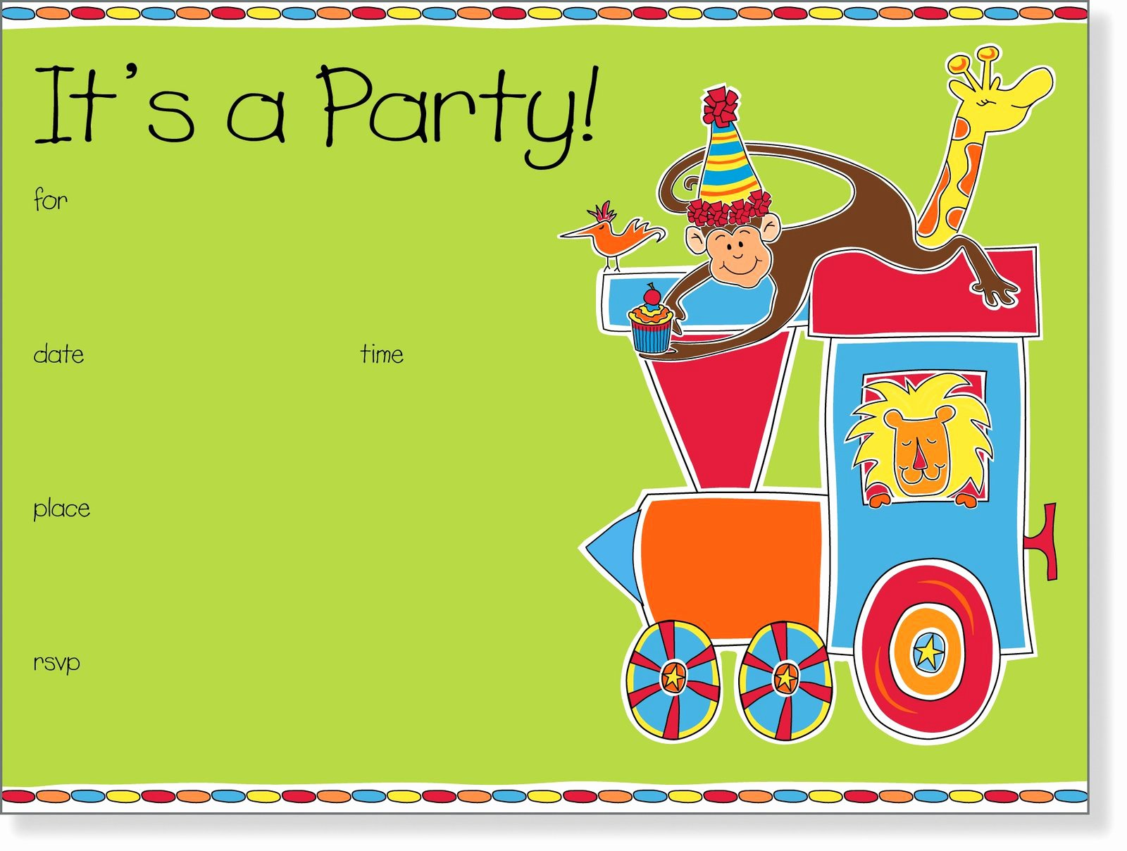 Birthday Invitation Email Template Beautiful 5 Best Of Email Background Templates Kids Party
