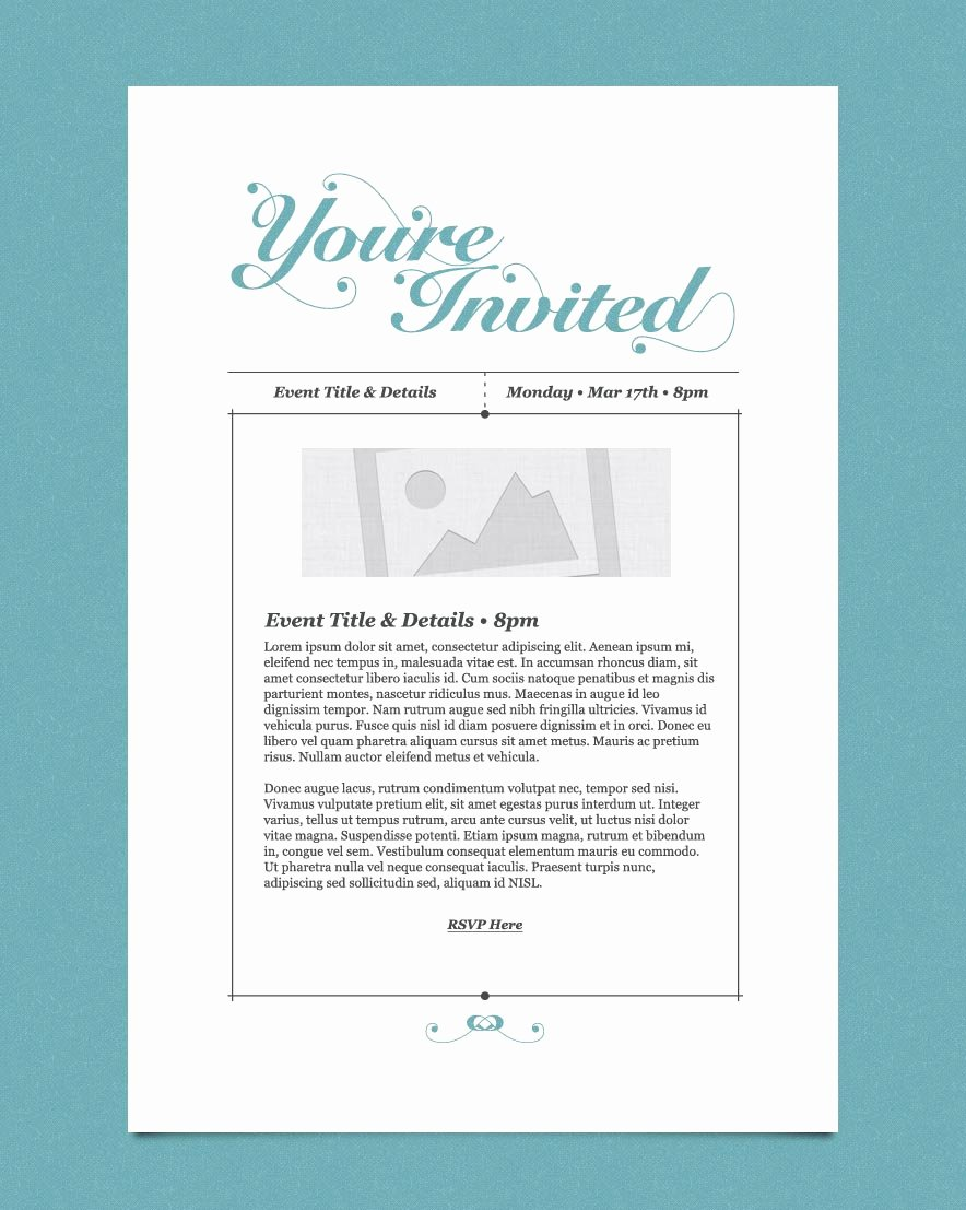 Birthday Invitation Email Template Beautiful Free Email Invitation Template