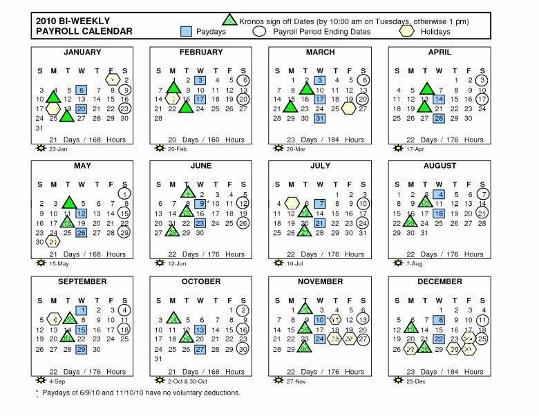 Biweekly Payroll Calendar Template 2017 Beautiful 2016 Biweekly Payroll Calendar Template Free Calendar