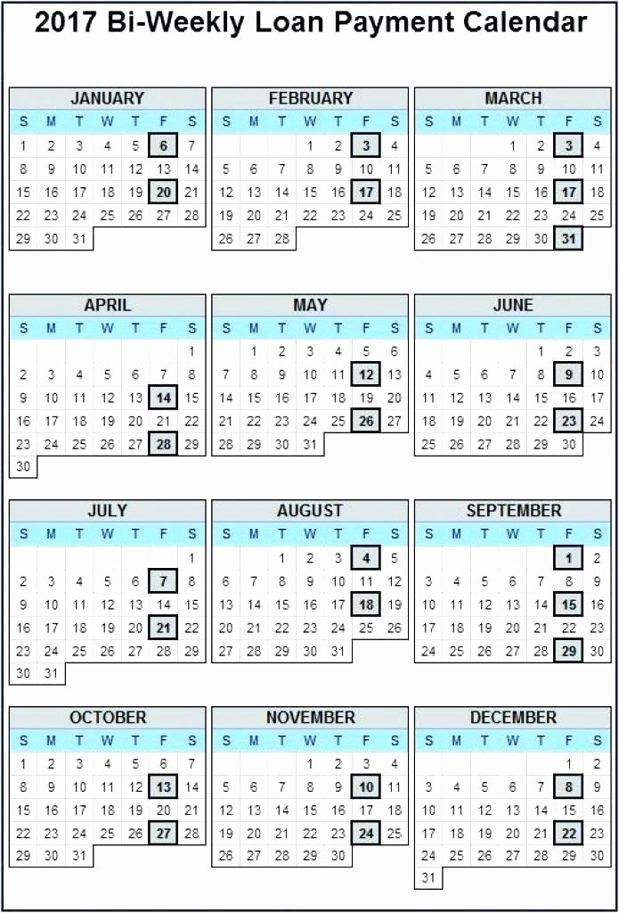 Biweekly Payroll Calendar Template 2017 Elegant Bi Weekly Payroll Calendar 2015 Template Schedule Biweekly