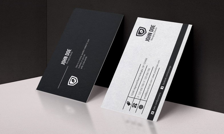 Black Business Card Template Beautiful 100 Free Business Cards Psd the Best Of Free Business Cards