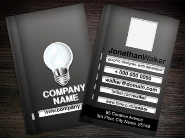 Black Business Card Template Best Of Black Business Card Template Psd Psd File