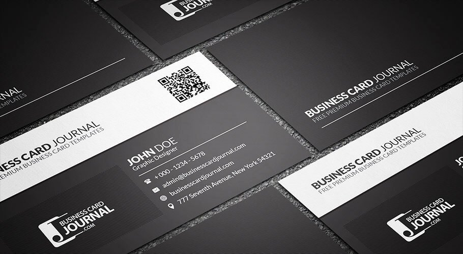 Black Business Card Template Elegant 75 Free Business Card Templates that are Stunning Beautiful