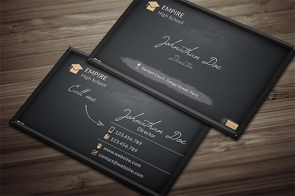 Black Business Card Template Fresh 39 Black Business Card Templates Word Ai Psd