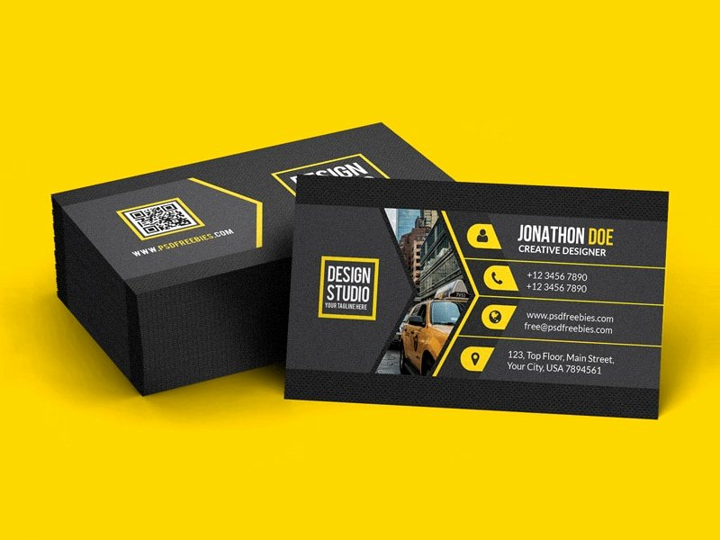 Black Business Card Template Lovely 100 Free Business Cards Psd the Best Of Free Business Cards