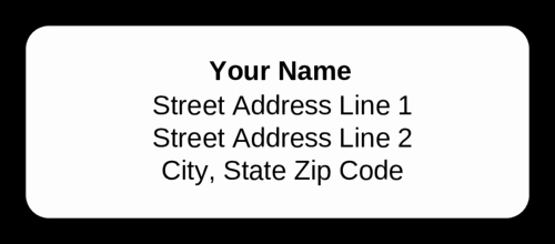 Blank Address Label Template Awesome Standard Address Label Text Ly Label Templates