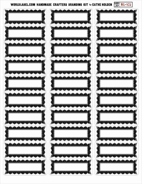 Blank Address Label Template Fresh Vintage Framed Address Labels Free Download Several