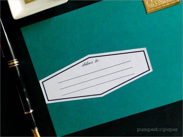 Blank Address Label Template Inspirational 16 Blank Address Label Templates Free Printable Psd