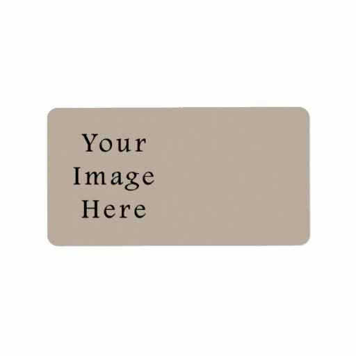 Blank Address Label Template Lovely Customized Avery Print to the Edge Address Label Labels