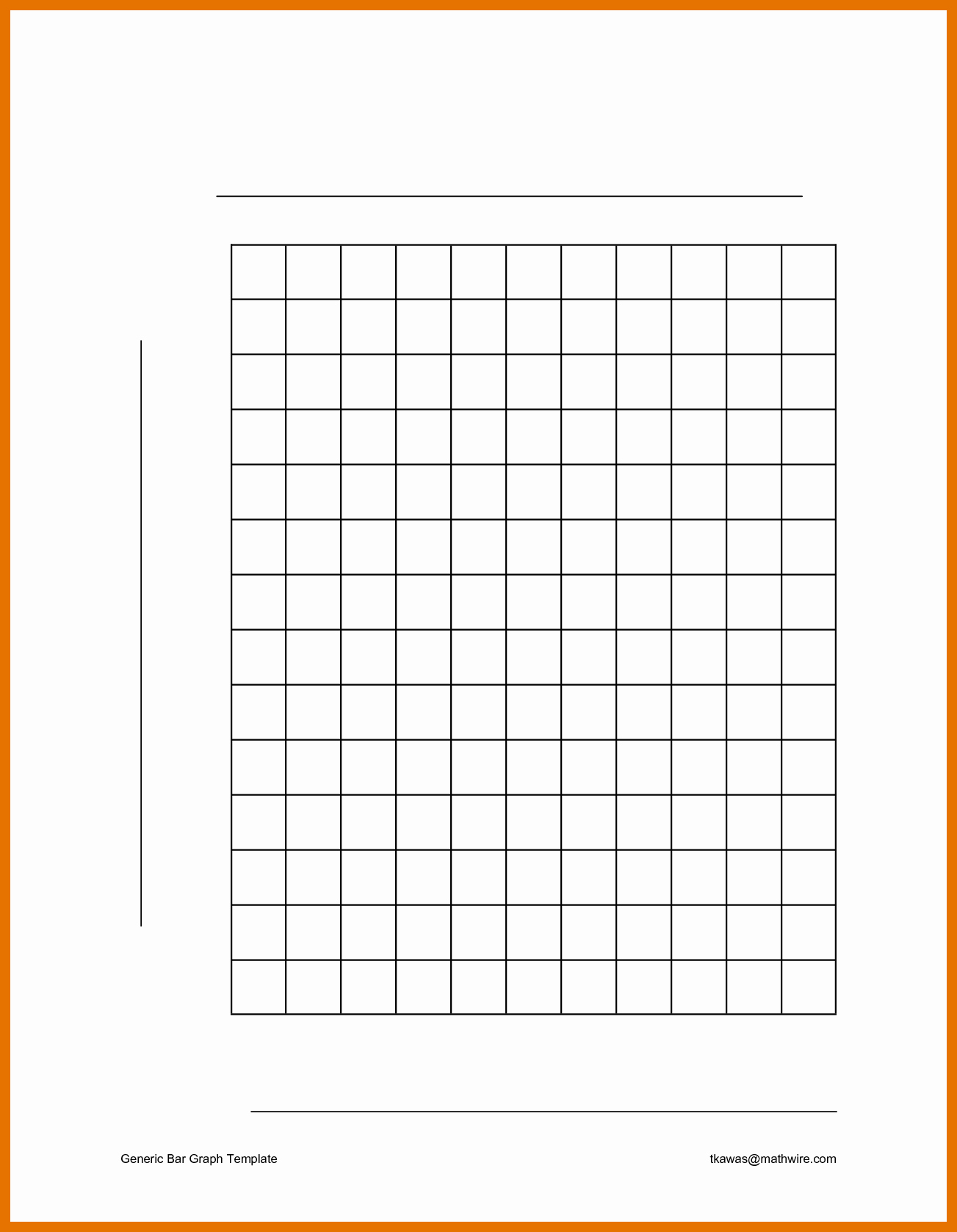 Blank Bar Graph Template Awesome 4 5 Bar Graph Template