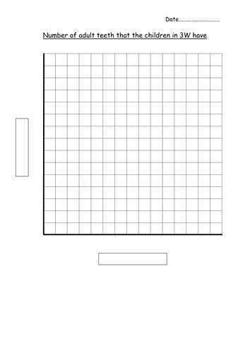 Blank Bar Graph Template Beautiful Blank Bar Graph Template Adult Teeth by Hannahw2