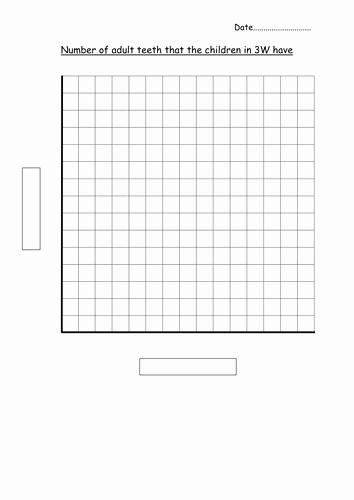 Blank Bar Graph Template Beautiful Blank Bar Graph Template Adult Teeth by Hannahw2