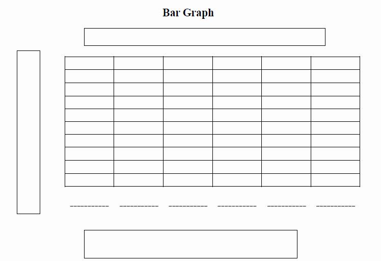 Blank Bar Graph Template Elegant 4 Best Of Printable Blank Data Charts Blank Bar