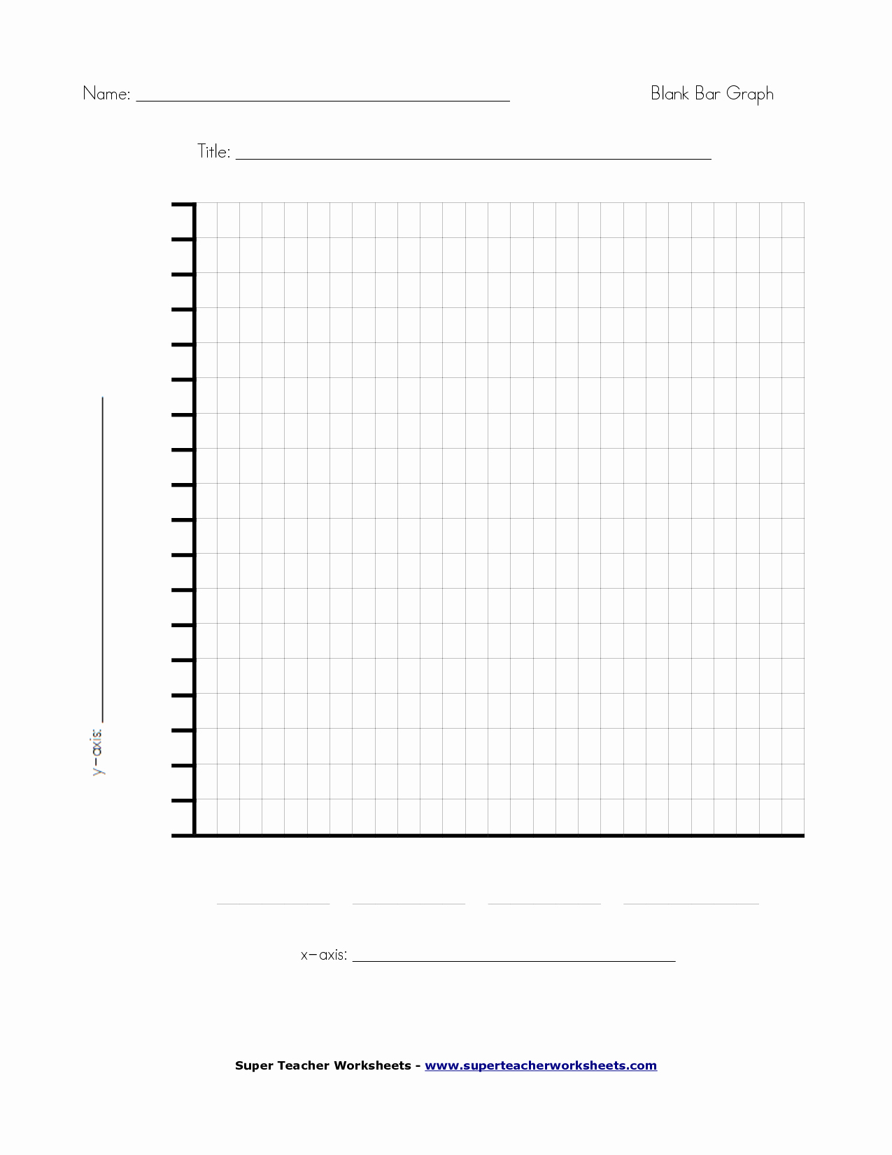 Blank Bar Graph Template Fresh 6 Best Of Fill In Blank Printable Graph Blank Bar
