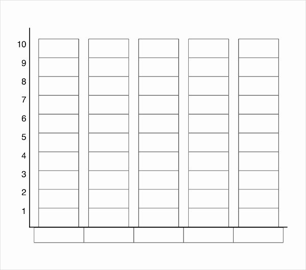 Blank Bar Graph Template Unique Blank Bar Graph for Kids