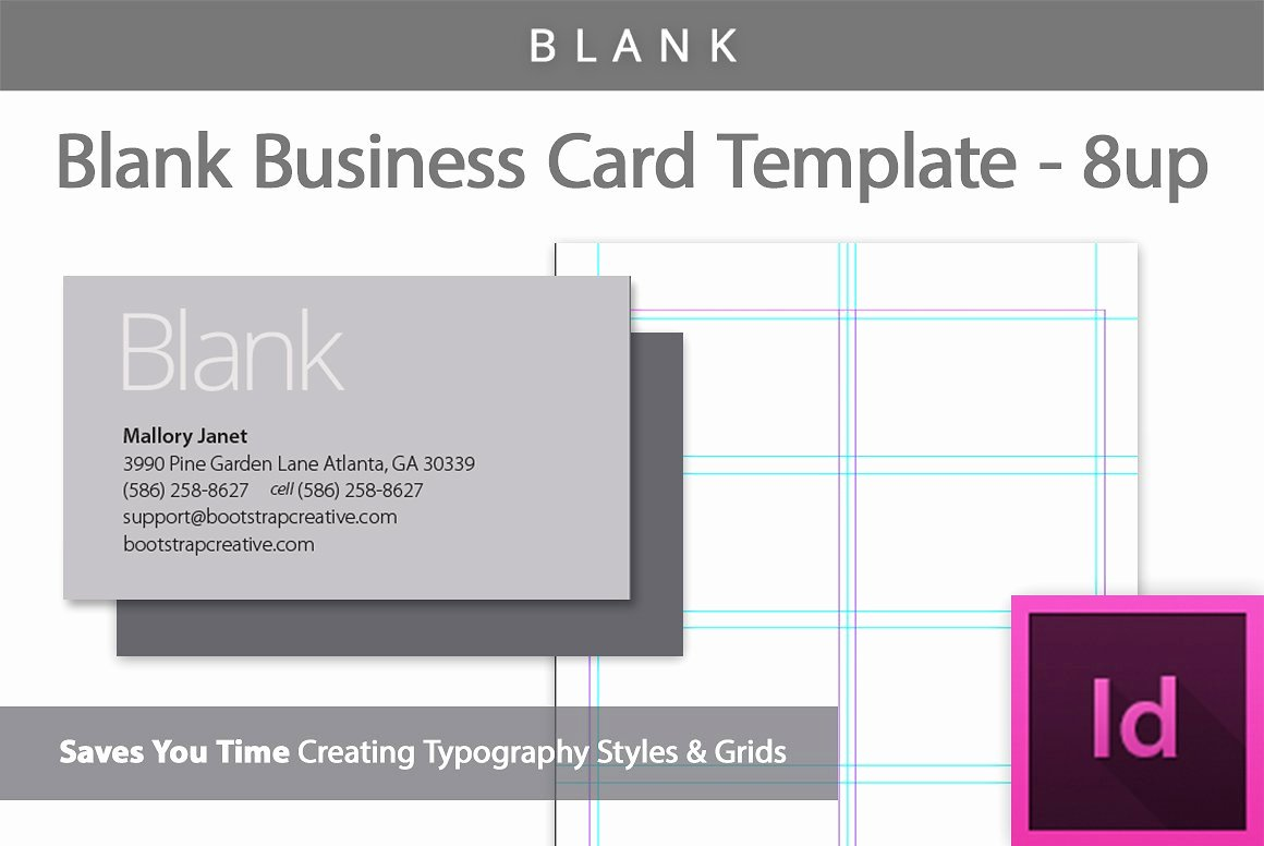 Blank Business Card Template Photoshop Unique [blank] Business Card Template 8 Up Business Card