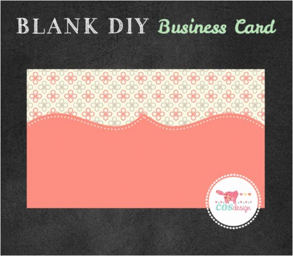 Blank Business Card Template Psd Awesome Free Diy Business Card Templates