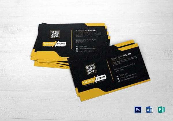 Blank Business Card Template Psd Fresh 28 Blank Business Card Templates Free Psd Ai Vector