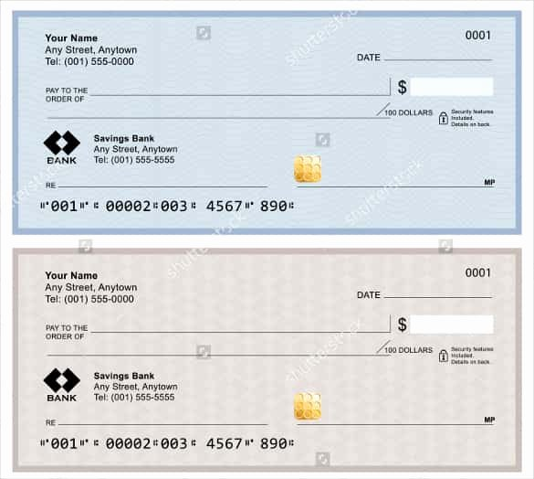 Blank Business Check Template Beautiful 24 Blank Check Template Doc Psd Pdf & Vector formats