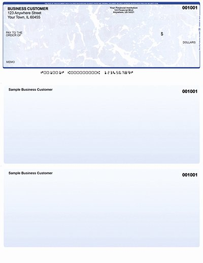 Blank Business Check Template Luxury Laser Puter Checks
