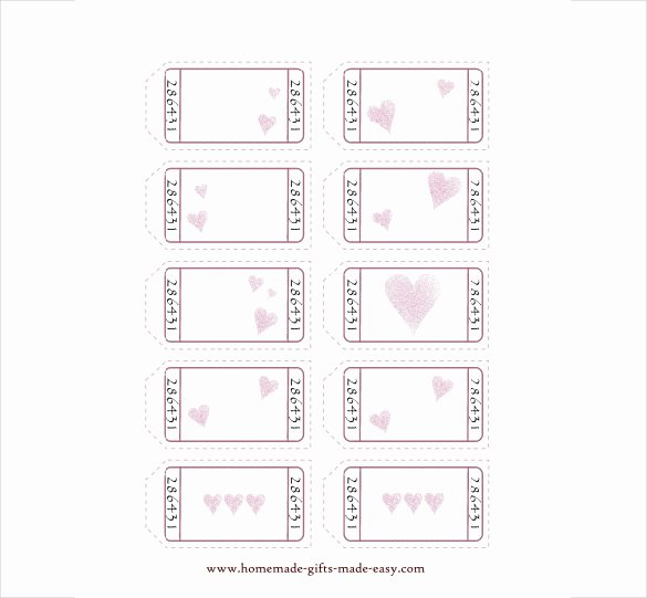 Blank Coupon Template Free Awesome 25 Love Coupon Templates Psd Ai Eps Pdf