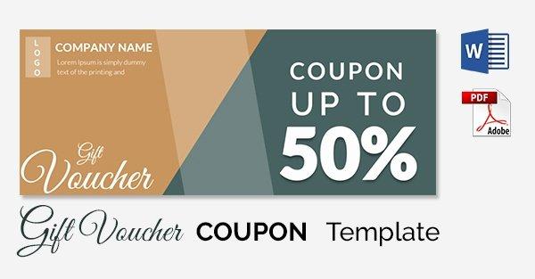 Blank Coupon Template Free Awesome Blank Coupon Templates – 26 Free Psd Word Eps Jpeg