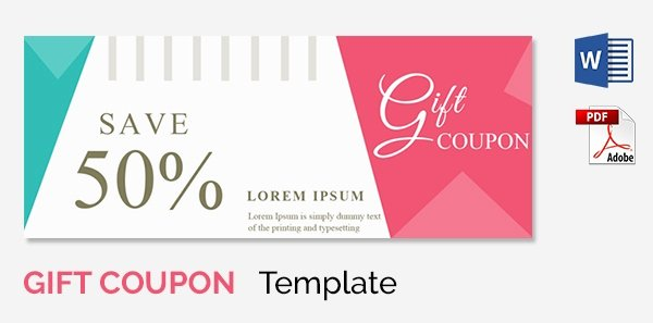 Blank Coupon Template Free Beautiful Blank Coupon Templates – 26 Free Psd Word Eps Jpeg