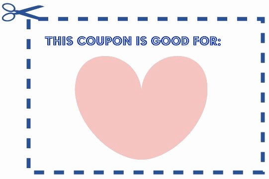 Blank Coupon Template Free Best Of Nourished Nug S