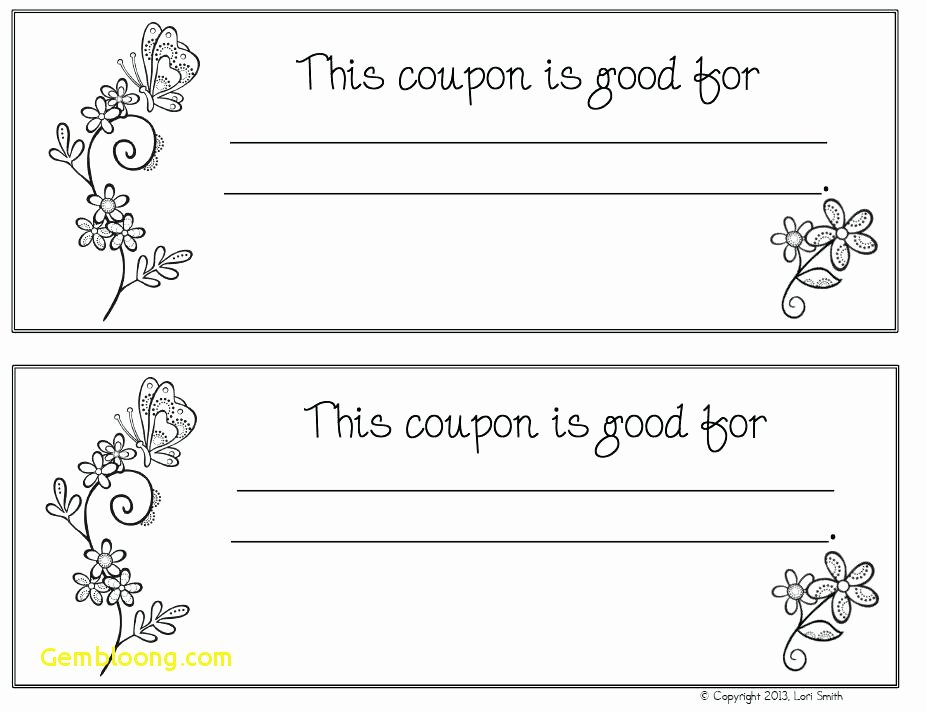 Blank Coupon Template Free Elegant Blank Coupon Books Best Coupon Book Template Word Blank