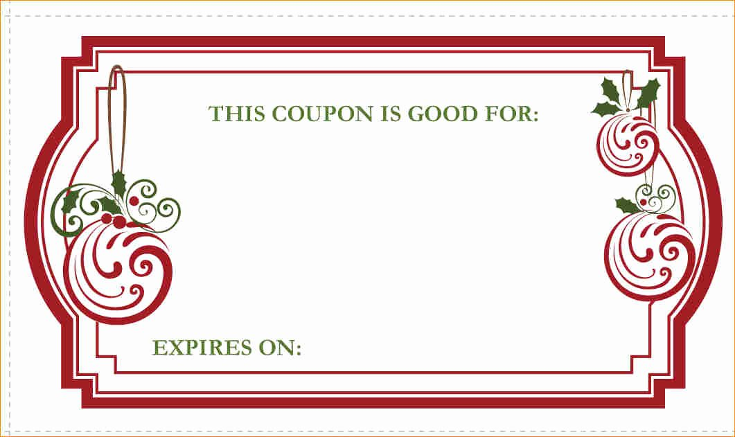 Blank Coupon Template Free Lovely Blank Coupon Template Free