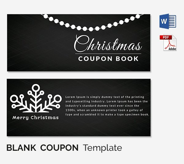 Blank Coupon Template Free Lovely Blank Coupon Templates – 26 Free Psd Word Eps Jpeg