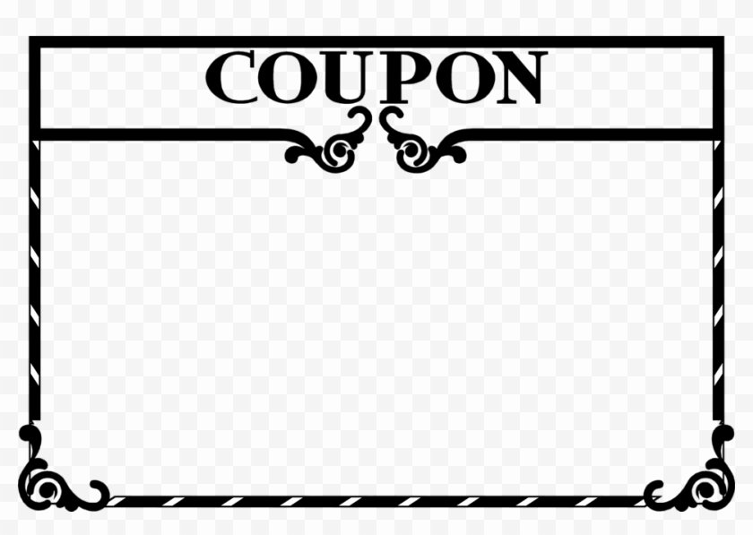 Blank Coupon Template Free Lovely Clipart Coupon Template Blank Coupon Clip Art Free