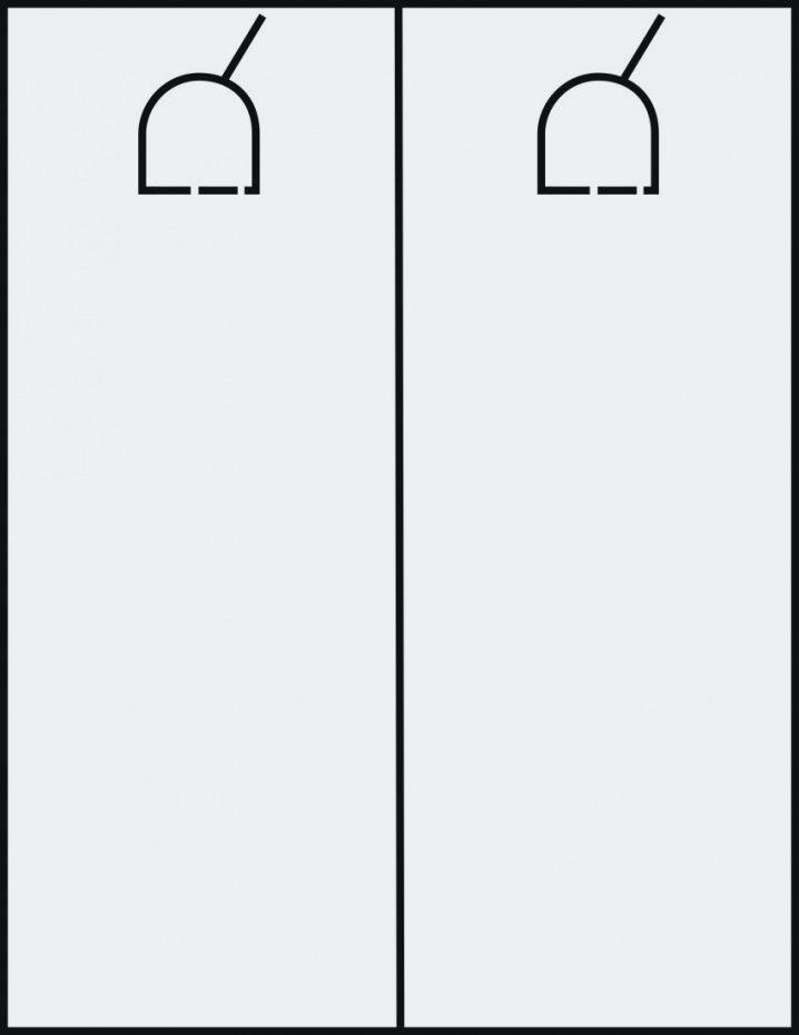 Blank Door Hanger Template Elegant Blank Printable Door Hanger Template Outline Hangers