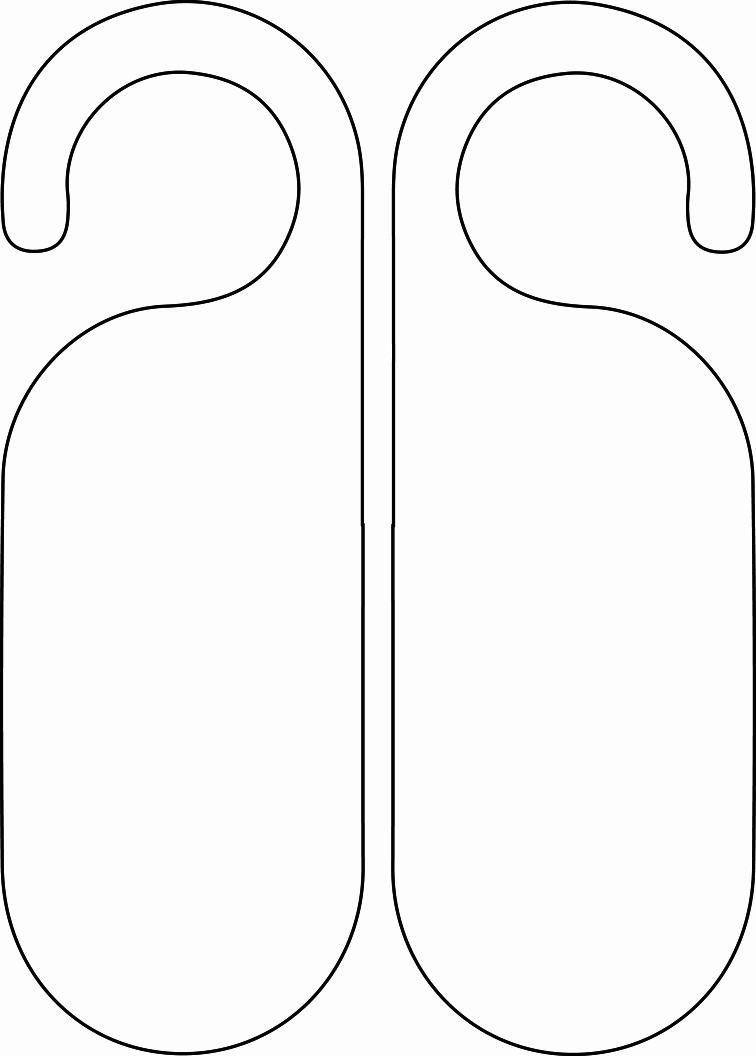 Blank Door Hanger Template Elegant Do Not Disturb Template by Emywarrior On Deviantart