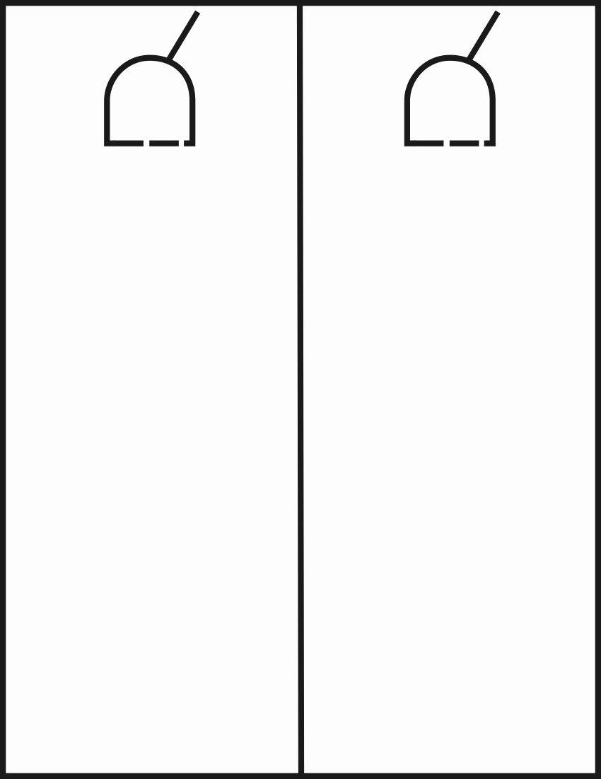 Blank Door Hanger Template Fresh Door Template & Door U0026 Drawer Router Carving Template Set