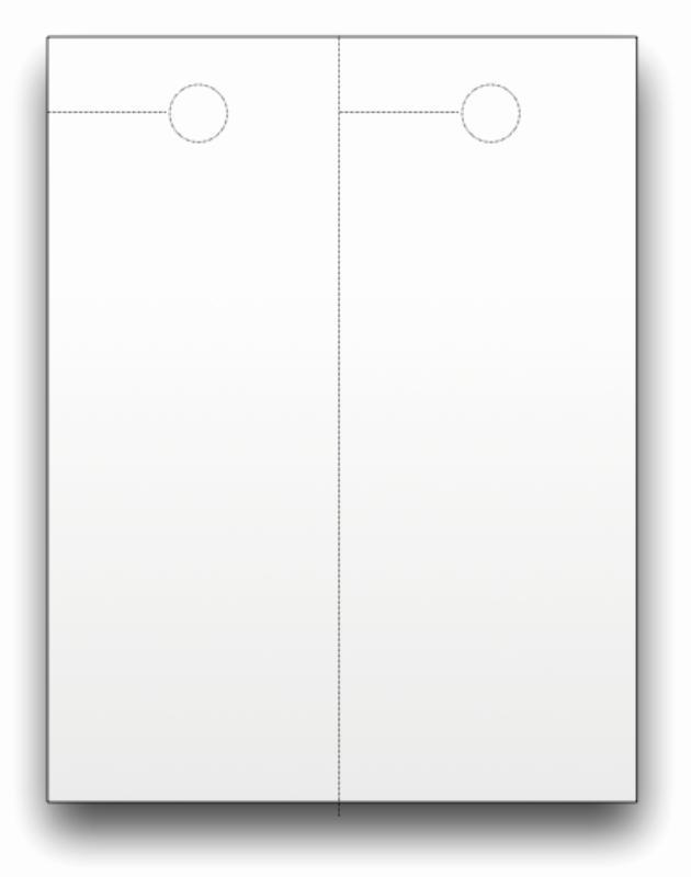 Blank Door Hanger Template Lovely Blank Door Hangers Custom Print