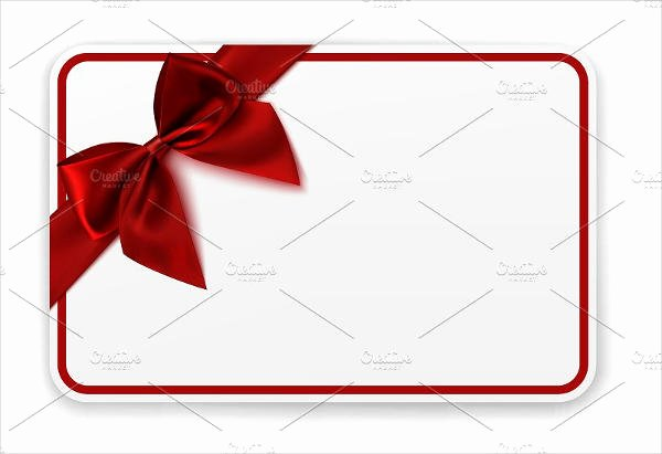 Blank Gift Card Template Elegant 5 Blank Gift Card Templates Design Templates