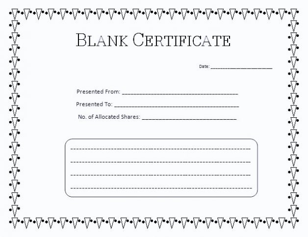 Blank Gift Card Template Inspirational Free Printable Gift Certificate Template Free