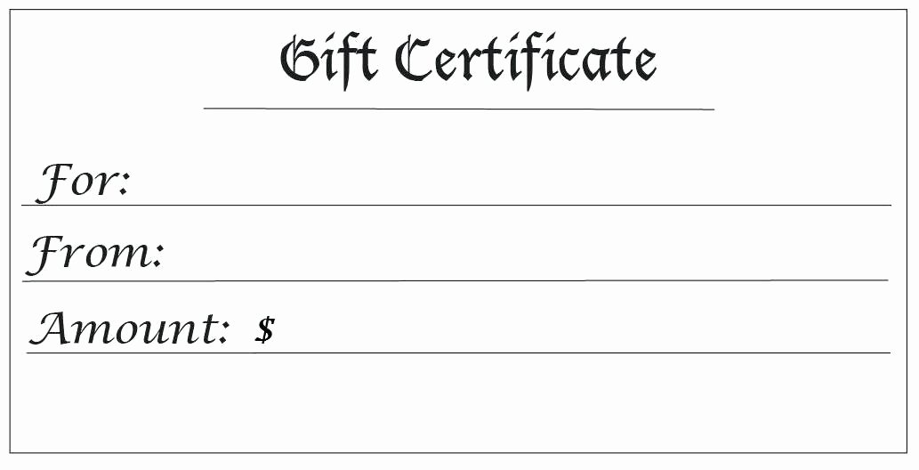 Blank Gift Card Template Inspirational Funny Babysitting Coupon with Crazy Kids Templates