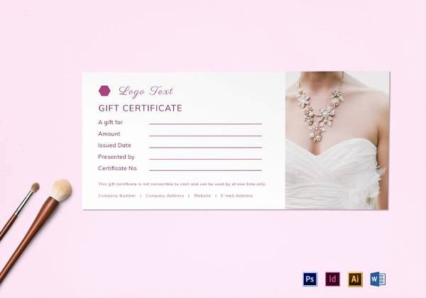 Blank Gift Card Template Unique 30 Blank Gift Certificate Templates Doc Pdf