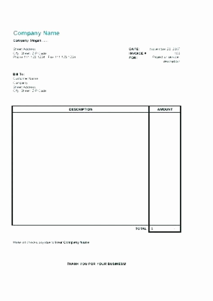 free printable invoice template word internet hosting free blank
