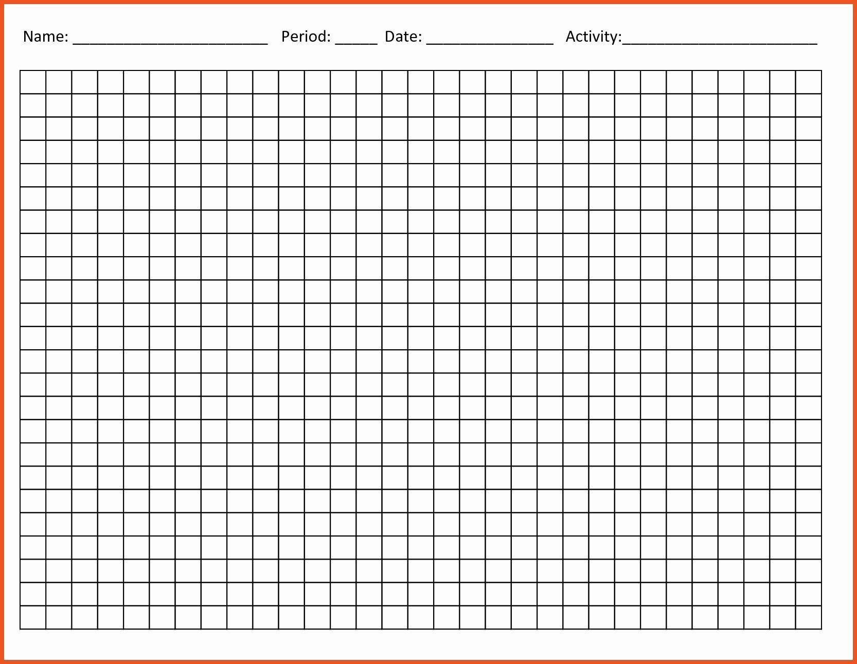 line graph template printable