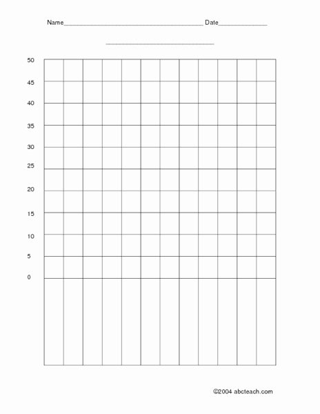 Blank Line Graph Template Luxury Blank Bar Graph Template for First Grade Blank Bar Graph