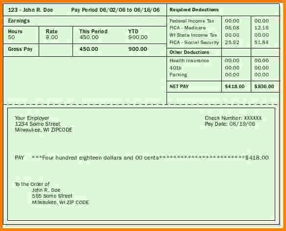 Blank Pay Stubs Template Free New Blank Pay Stubs Template Gallery Template Design Ideas