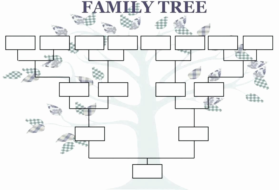 Blank Phone Tree Template Inspirational Family Tree Template Word Doc