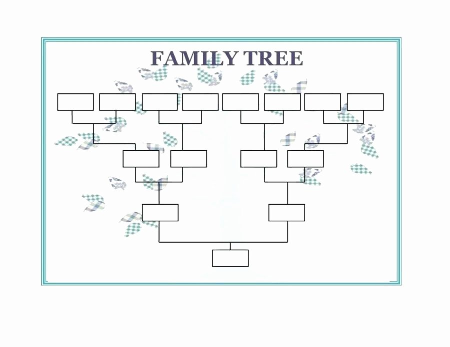 Blank Phone Tree Template Inspirational Free Family Tree Template – Grnwav