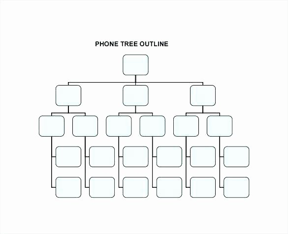 Blank Phone Tree Template Inspirational Tree Outline Template Frog Template Printable Craft the