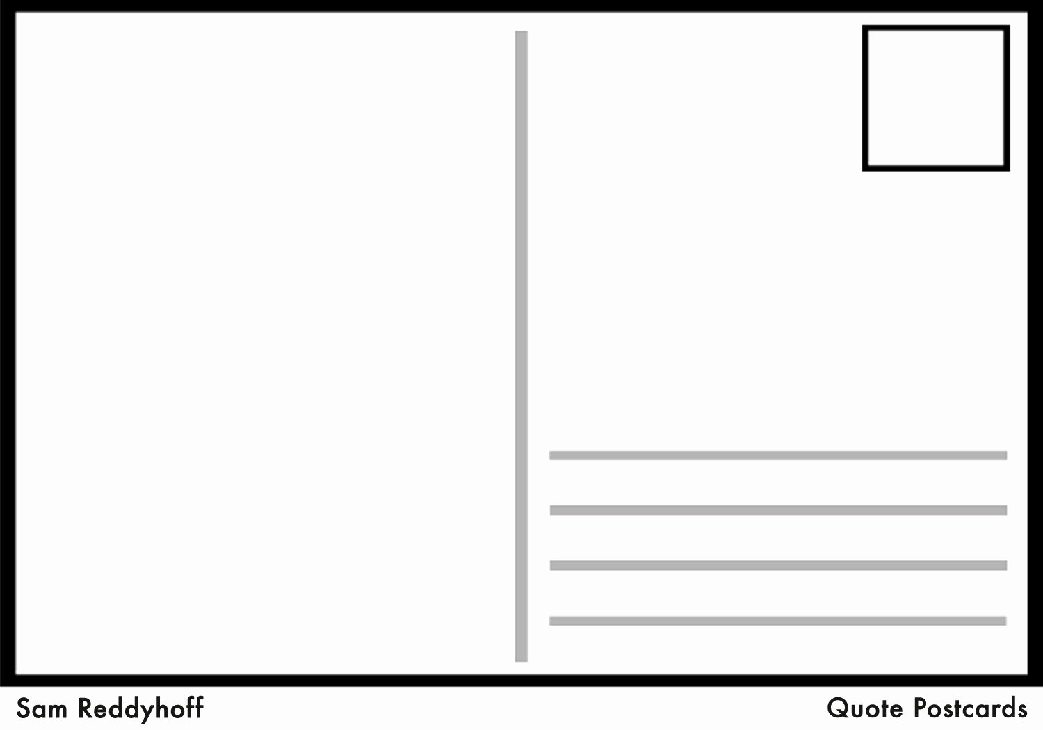 Blank Postcard Template Word Awesome Microsoft Word Postcard Templates