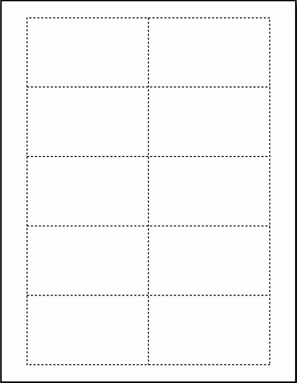 Blank Postcard Template Word Best Of Blank Business Cards Templates