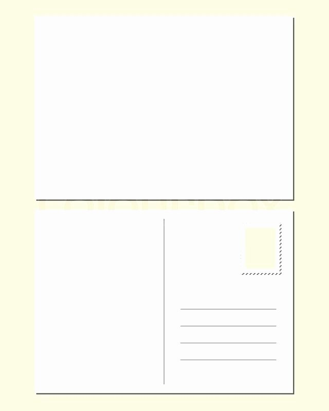 Blank Postcard Template Word Best Of Plain Postcard Template Latest Blank Word Crafting with